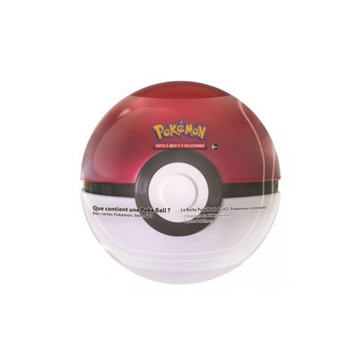 Pokémon - The Pokémon Company - Pokébox - Poké Ball Tin (3 boosters + 1 jeton)
