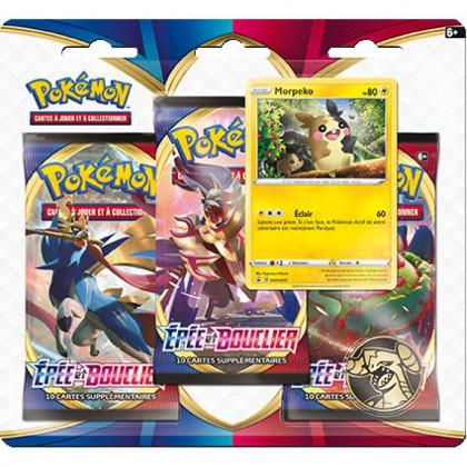 Tripack Pokémon Épée et Bouclier - Morpeko