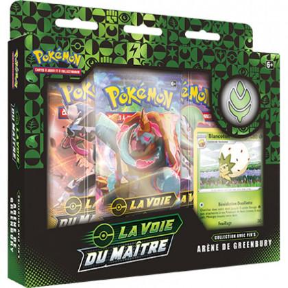 Pokémon - Coffret - EB3.5 La Voie du Maître - Coffret Pin's : Arène de Greenbury