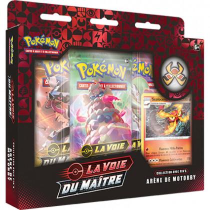 Pokémon - Coffret - EB3.5 La Voie du Maître - Coffret Pin's : Arène de Motorby