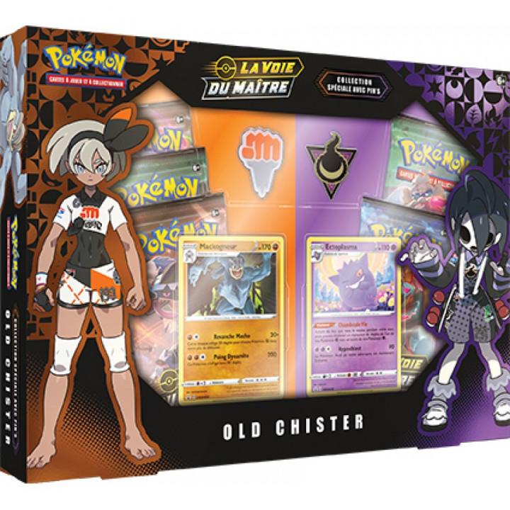 Pokémon - Coffret - EB3.5 La Voie du Maître - Coffret Pin's : Old Chister