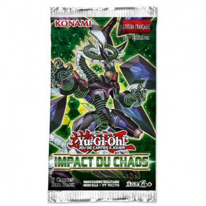 Booster Impact du Chaos Yu-Gi-Oh! FR