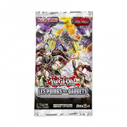 Booster Les Poings des Gadgets Yu-Gi-Oh! FR