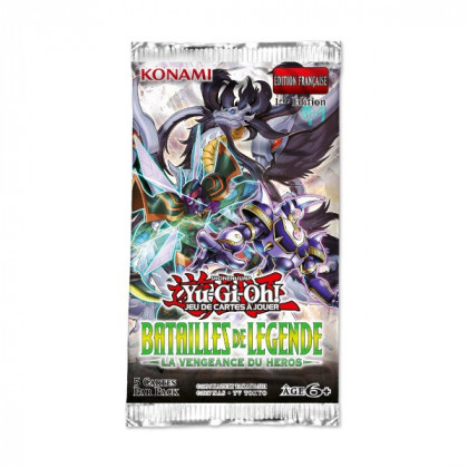 Booster Batailles de Légende : La vengeance du Héros Yu-Gi-Oh! FR