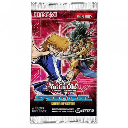 Booster Speed Duel Cicatrices de Batailles Yu-Gi-Oh!  FR