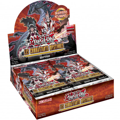 Display Boite de 24 Boosters Les Combattants Mystiques Yu-Gi-Oh! FR