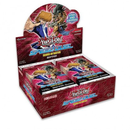 Display Boite de 36 Boosters Speed Duel : Cicatrices de Batailles Yu-Gi-Oh! FR