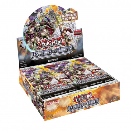 Display Boite de 24 boosters Les Poings des Gadgets Yu-Gi-Oh! FR
