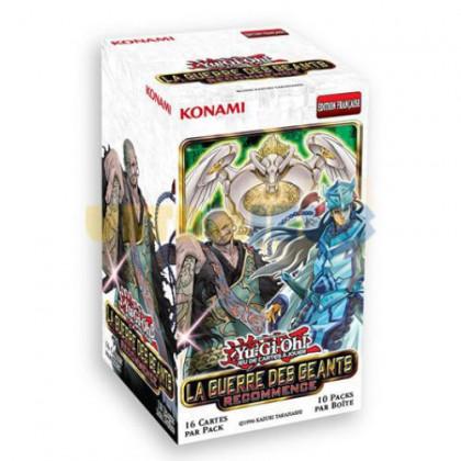 Display Boite De 10 Boosters La Guerre Des Géants Recommence Yu-Gi-Oh! FR