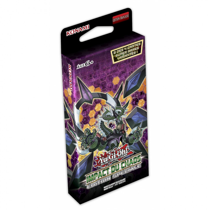 Yu-Gi-Oh! - Konami - Packs Edition Spéciale - Impact du Chaos