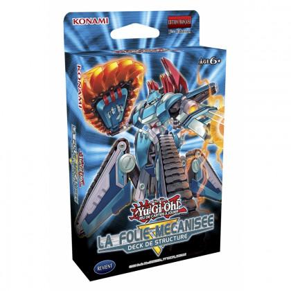 Yu-Gi-Oh! - Konami - Decks de Structure - La Folie Mécanisée