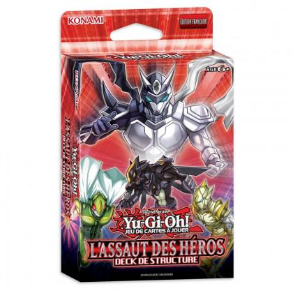 Decks de Structure Yu-Gi-Oh! - L'Assaut des Héros