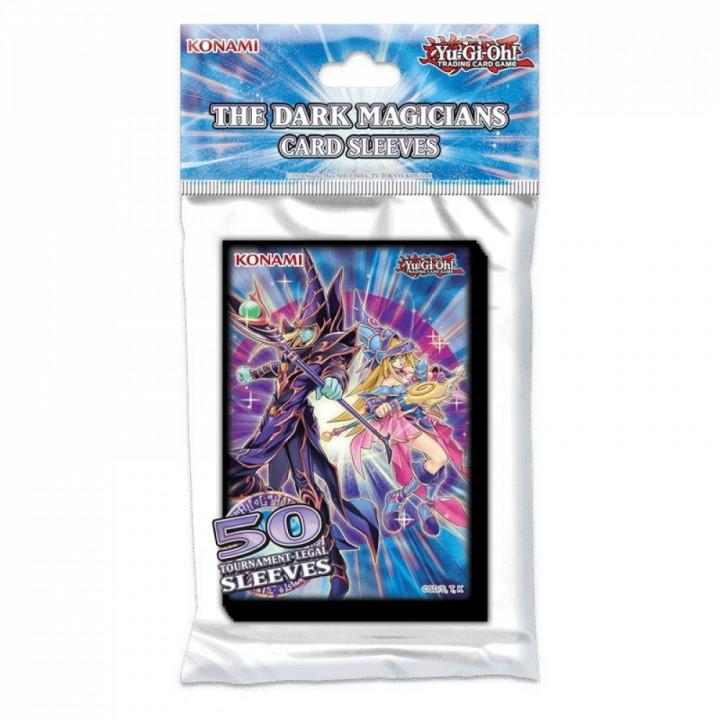 Yu-Gi-Oh! - Konami - Protèges Cartes Format JAP - Officiel Konami - Les Magiciens des Ténèbres (The Dark Magicians) par 50