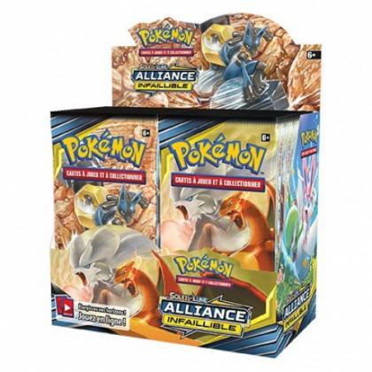 Pokémon - The Pokémon Company - Boites Boosters Français - Boite De 36 Boosters SL10 - Soleil Et Lune 10 - Alliance Infaillible