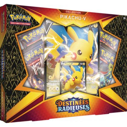 Pokémon - Coffret - EB04.5 - Destinées Radieuses - Pikachu-V