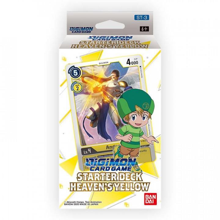 Digimon Card Game Starter Deck 3 Heaven's Yellow