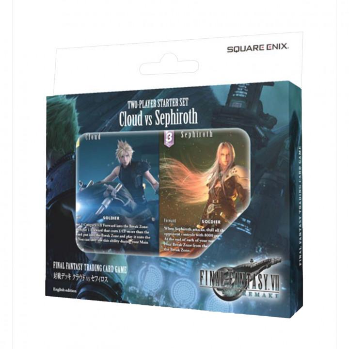 Set de Démarrage 2 joueurs : Cloud vs Sephiroth
