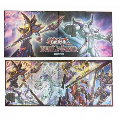 Tapis de jeu cartonné Le Pouvoir du Duel - Yu-Gi-Oh!