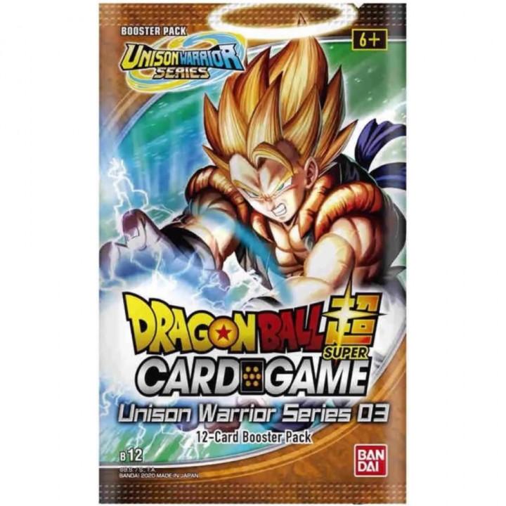 Dragon Ball Super - Bandai - Booster en Français - B12 - Unison Warrior 3 - Vicious Rejuvenation