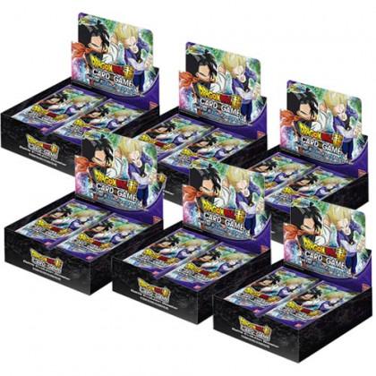 Display Boite de 24 Boosters : Lot de 6 DBS CG - Booster Battle Evolution Dragon Ball Super Card Game