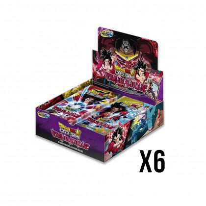 Display Boite de 24 Boosters UWS - Vermilion Bloodline Dragon Ball Super Card Game : Lot de 6 DBS CG B11