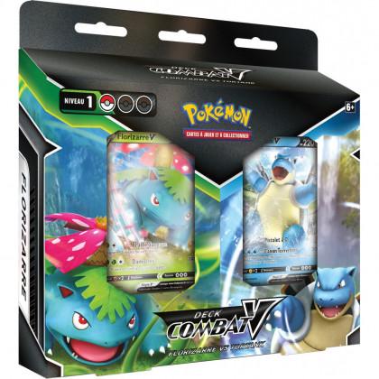 Bundle Decks Combat V Florizarre vs Tortank - Pokémon FR