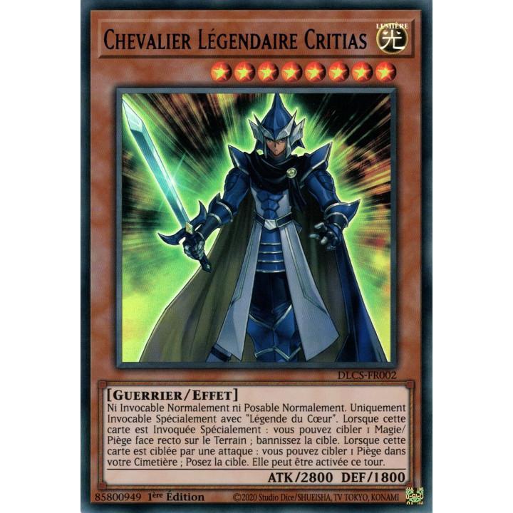 DLCS-FR002 Chevalier Légendaire Critias (Bleu)