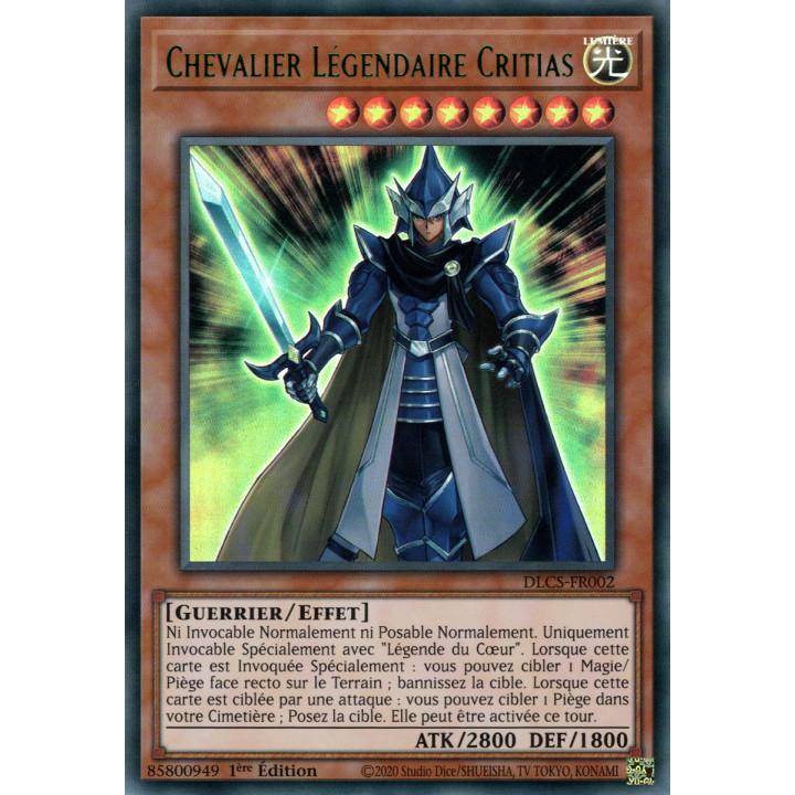 DLCS-FR002 Chevalier Légendaire Critias (Vert)