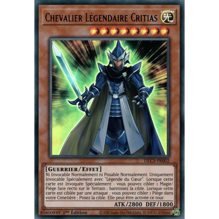 DLCS-FR002 Chevalier Légendaire Critias (Violet)