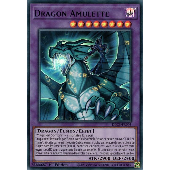 DLCS-FR005 Dragon Amulette (Violet)