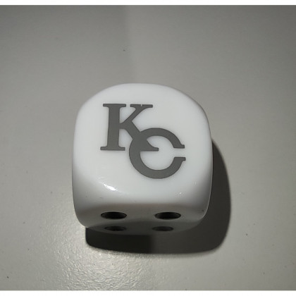 Yu-Gi-Oh! Dé À 6 Faces Blanc KC KaibaCorp