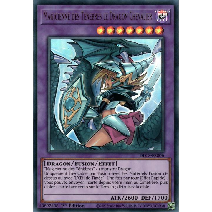 DLCS-FR006B Magicienne des Ténèbres le Dragon Chevalier V2 (Doré)