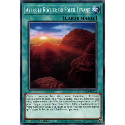 DLCS-FR022 Ayers le Rocher du Soleil Levant
