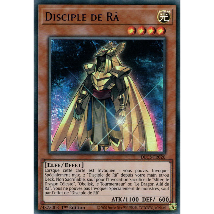 DLCS-FR026 Disciple de Râ (Violet)