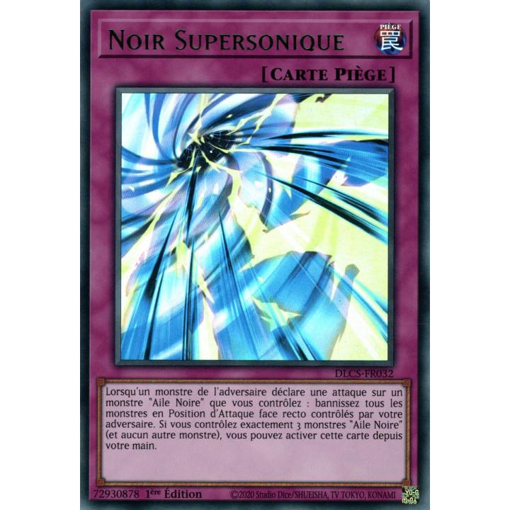 DLCS-FR032 Noir Supersonique (Vert)