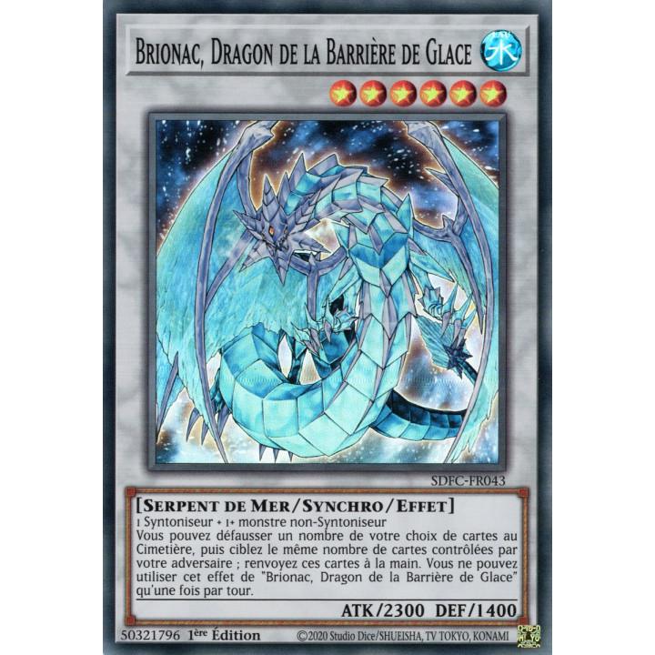 Brionac, Dragon de la Barrière de Glace : SDFC-FR043 SR