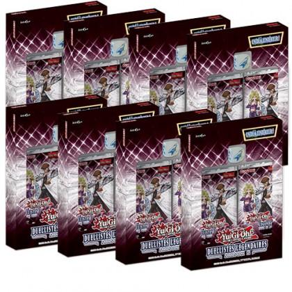 Lot de 8 Coffrets Duellistes Légendaires Saison 2 Yu-Gi-Oh! FR