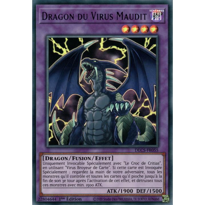 DLCS-FR055 Dragon du Virus Maudit (Violet)