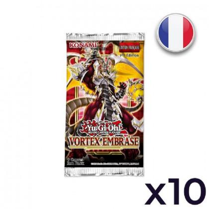 Lot de 10 Boosters Vortex Embrasé - Yu-Gi-Oh! FR