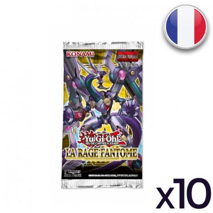Lot de 10 Boosters Rage Fantôme - Yu-Gi-Oh! FR