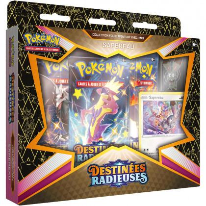 Coffret Pin's Sapereau EB4.5 Destinées Radieuses Pokémon FR