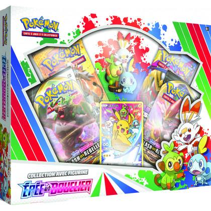 Coffret Collection avec Figurine Épée et Bouclier Pokémon FR