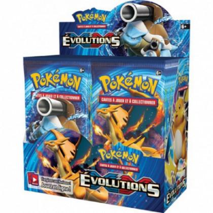 Display Boîte 36 Boosters XY Évolutions (XY12) - Pokémon FR