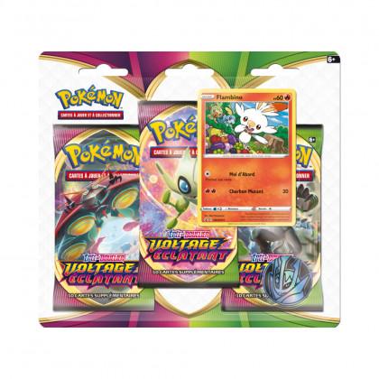 Tripack Flambino Épée et Bouclier : Voltage Éclatant Pokémon FR