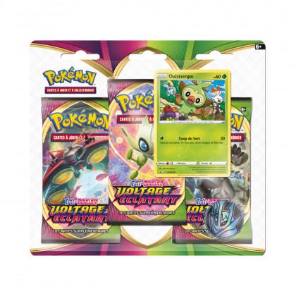 Tripack Ouistempo Épée et Bouclier : Voltage Éclatant Pokémon FR