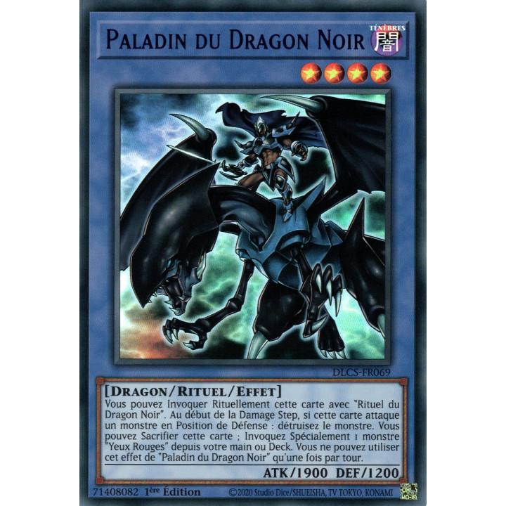 DLCS-FR069 Paladin du Dragon Noir (Bleu)