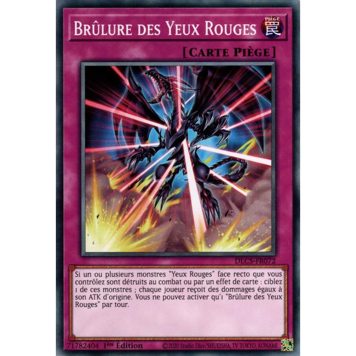 DLCS-FR072 Brûlure des Yeux Rouges