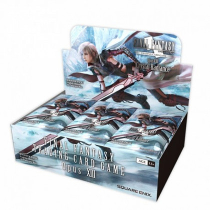 Display Boite de 36 Boosters Opus 13 Crystal Radiance Final Fantasy