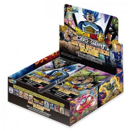 Display / Boite de 24 Boosters Battle Evolution - Dragon Ball FR