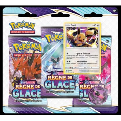 Tripack Évoli Épée et Bouclier EB06 : Règne de Glace - Pokémon